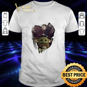 Official Baby Yoda The Mandalorian Torn Paper Star Wars shirt