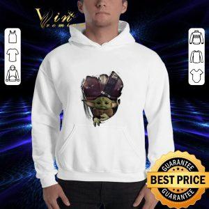 Official Baby Yoda The Mandalorian Torn Paper Star Wars shirt 2