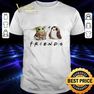 Official Baby Yoda and Porg Friends shirt