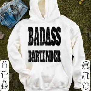 Official Funny Christmas Bartender Badass Bar Beer Gift sweater