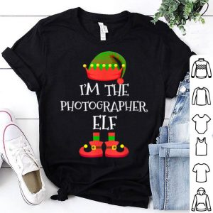 Official I'M THE Photographer ELF Christmas Xmas Elf Group Costume sweater