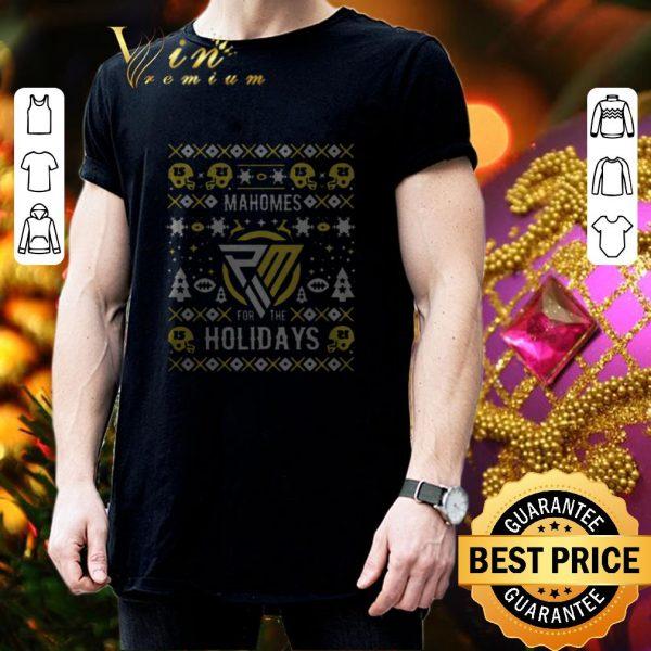 Official Patrick Mahomes for the holidays ugly Christmas 2020 shirt