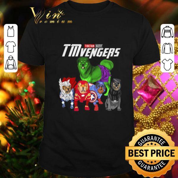 Official Tibetan Mastiff TMvengers Marvel Avengers Endgame shirt