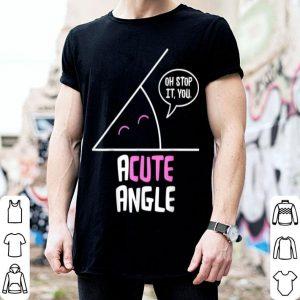 Official acute angle funny math math teacher christmas birthday sweater