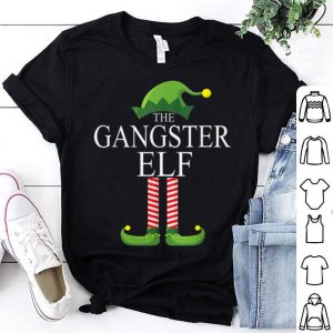 Original The Gangster Elf Family Matching Group Christmas Gift Funny sweater