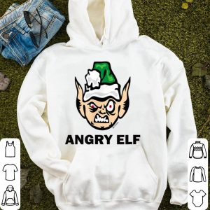 Premium Christmas Angry Elf Funny sweater