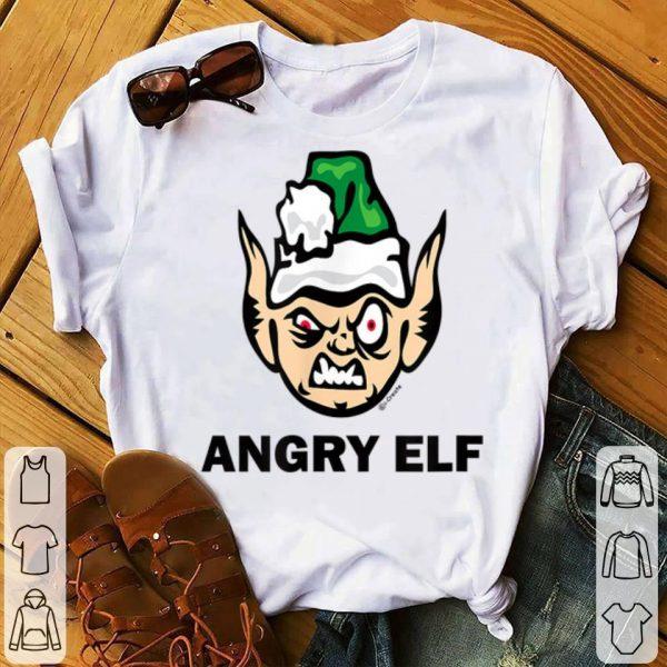 Premium Christmas Angry Elf Funny sweater