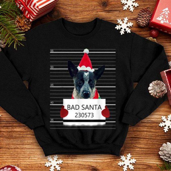 Premium Heeler Bad Santa Claus Christmas Costume Pajama sweater