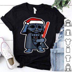 Premium Star Wars Darth Vader Saber Santa Hat Christmas sweater
