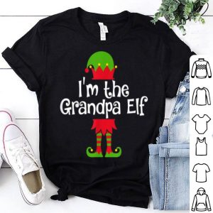 Pretty Mens I'm the Grandpa Elf Matching Group Photo Xmas sweater