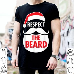 Pretty Respect The Beard Santa Claus Christmas Graphic sweater