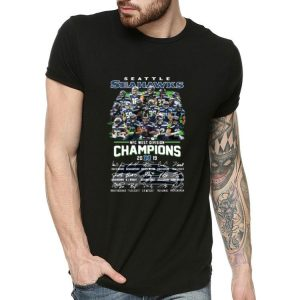 Seattle Seahawks Nfc West Division Champions 2019 Signatures shirt