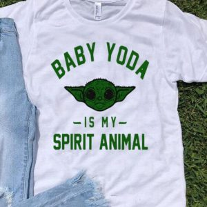 Star Wars Baby Yoda Is My Spirit Animal shirt