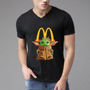 Star Wars Baby Yoda King McDonald's shirt