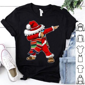 Top Christmas Sombrero Dabbing Mexican Poncho Santa sweater