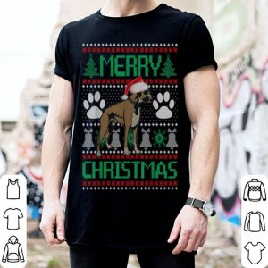 Top Merry Christmas Boxer Ugly Matching Funny Gift Dog Lover sweater