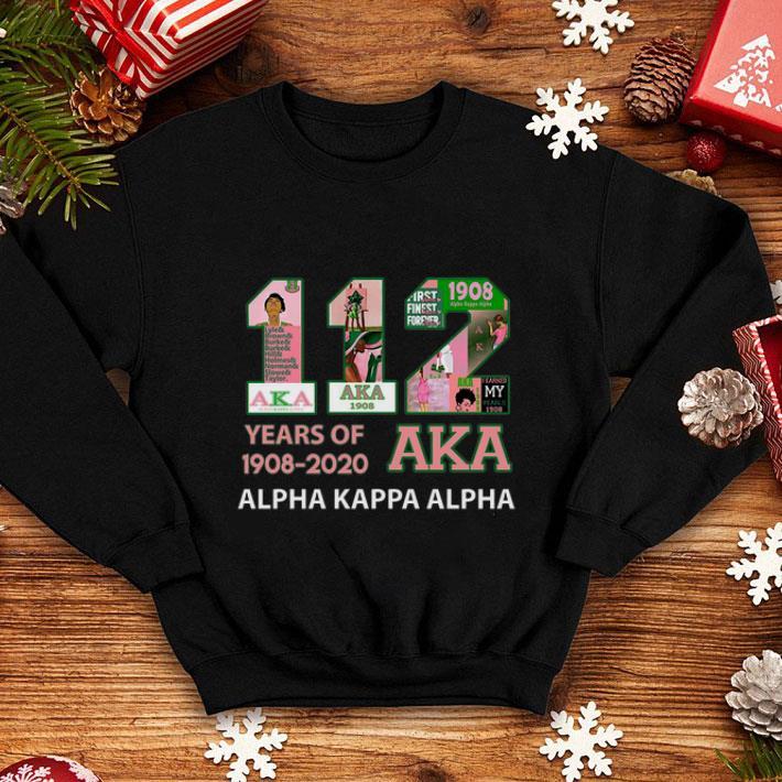 112 Years of 1908 2020 Alpha Kappa Alpha shirt 4 - 112 Years of 1908 2020 Alpha Kappa Alpha shirt