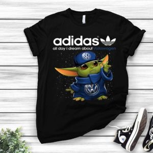 Baby Yoda Adidas All Day I Dream About Volkswagen shirt