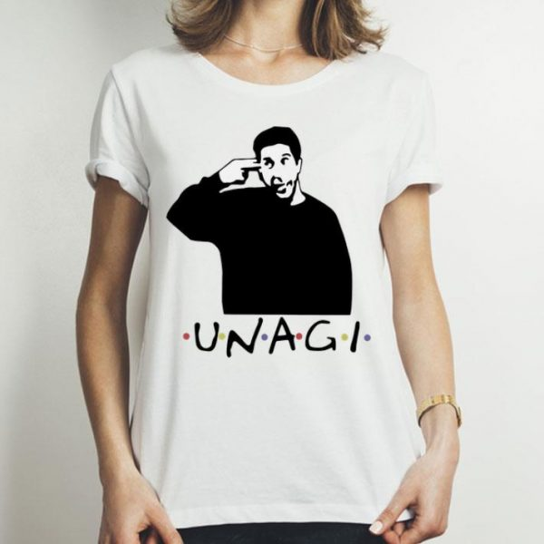 Ross Geller Unagi Friends shirt