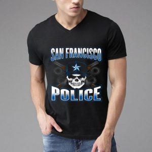 San Francisco Police Skull Guns shirt