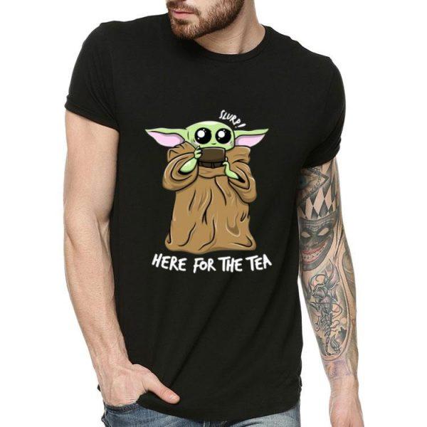 Slurp Here For The Tea Baby Yoda shirt