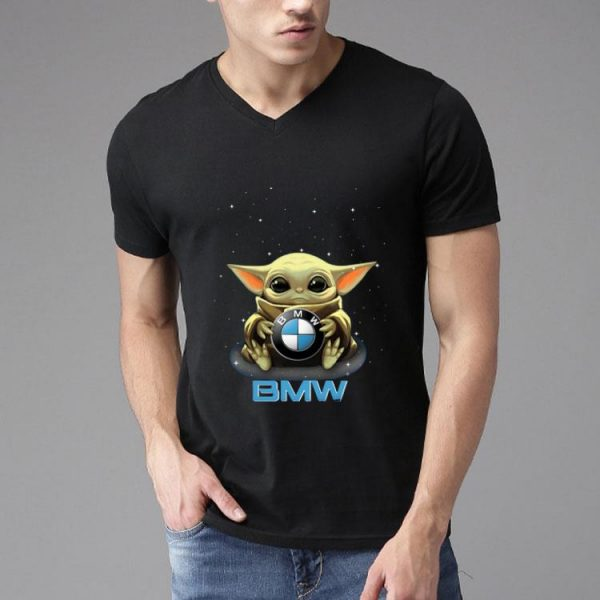 Star Wars Baby Yoda Hug BMW shirt