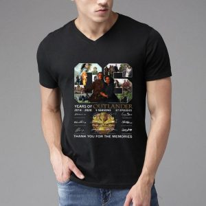 06 Years Of Outlander 2014 -2020 Signatures shirt