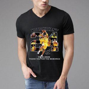 24 Kobe Bryant 1978 2020 Thank You For The Memories Signature shirt