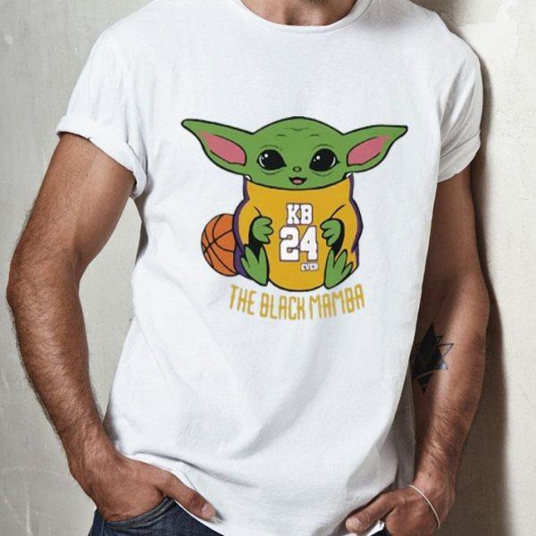 Baby Yoda Kobe Bryant KO8E24 The Black Mamba shirt