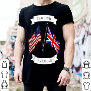 English American Flag shirt