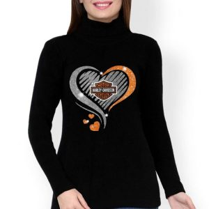 Heart Diamond Motor Harley Davidson Cycles shirt