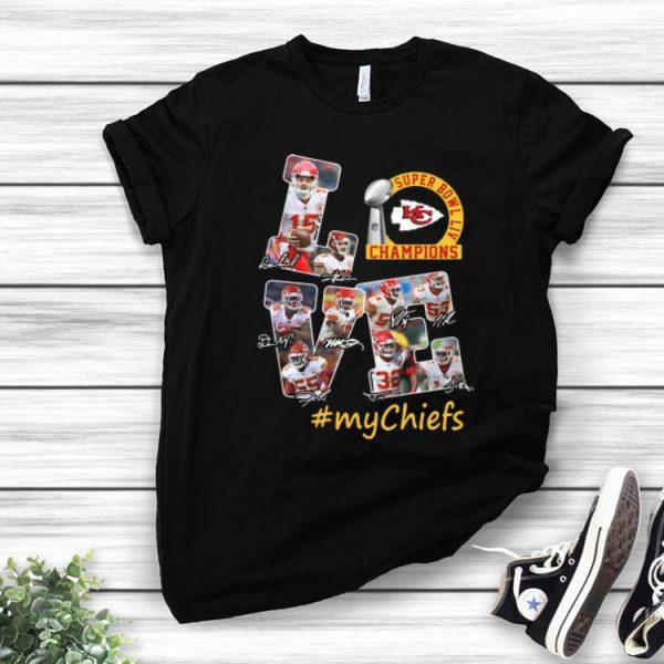 Love Kansas City Chiefs Super Bowl Liv Champions #Mychiefs shirt