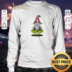 Nice Hippie Gnome happy St Patrick's Day shirt 2