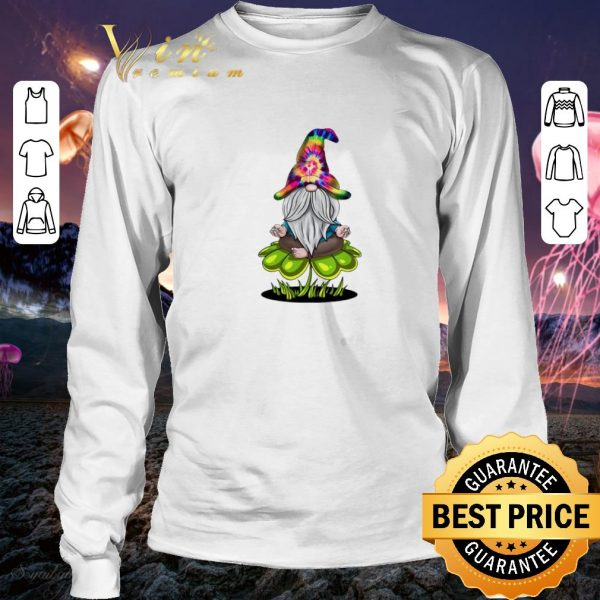 Nice Hippie Gnome happy St Patrick's Day shirt