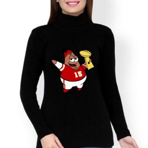 Patrick Mahomes Cartoon Kansas City Chiefs Super Bowl Champions shirt