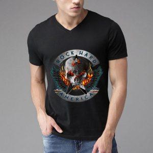 Rock Hard America Downing Heavy Metal Skull shirt