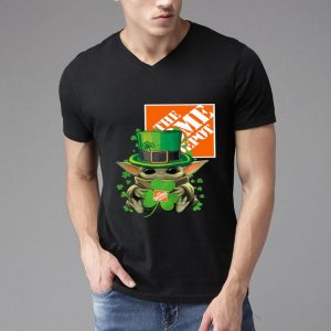 Star Wars Baby Yoda The Home Depot Shamrock St. Patrick's Day shirt