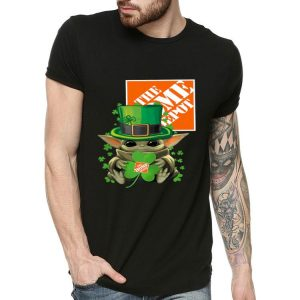 Star Wars Baby Yoda The Home Depot Shamrock St. Patrick's Day shirt