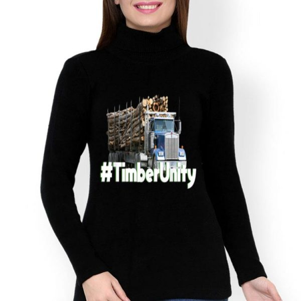 Timber Unity Log Truck Tee shirt