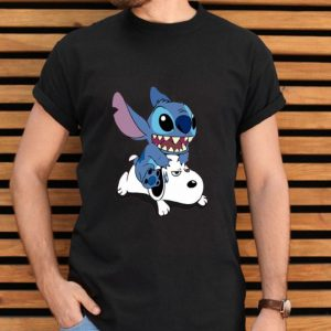 A Friend For Life Stitch And Snoopy shirt