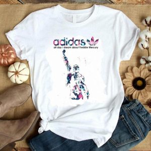 Adidas All Day I Dream About Freddie Mercury Floral shirt