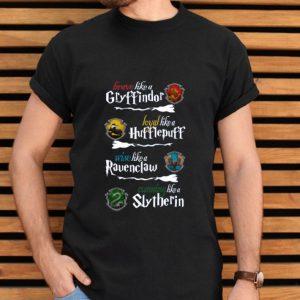 Brave like A Gryffindor Loyal Wise Cunning Harry Potter shirt