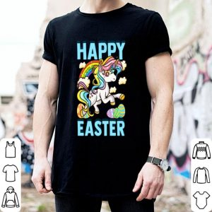 Happy Easter Rainbow Unicorn Easter Eggs shirt
