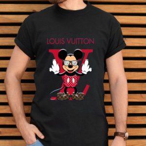 Louis Vuitton Disney Mickey Mouse shirt