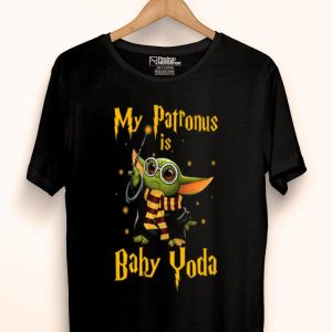 My Patronus Is Baby Yoda Star Wars Harry Potter shirt