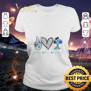 Nice Peace Love Snoopy Peanuts shirt