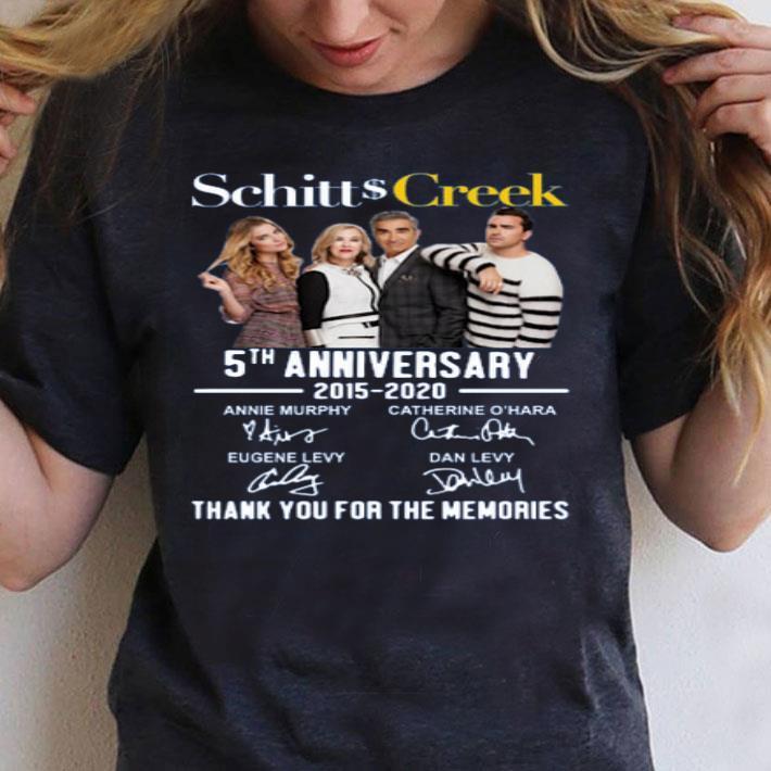 Schitt/'s Creek 5th Anniversary 20152020 Singatures Thank You For The Memories