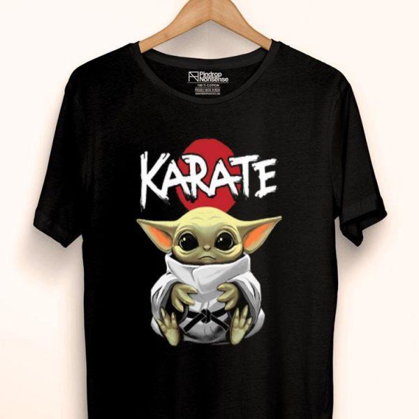 Star Wars Black Belt Karate Baby Yoda shirt