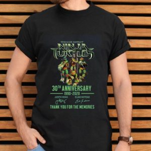 Teenage Mutant Ninja Turtles 30th Anniversary 1990-2020 Signature shirt