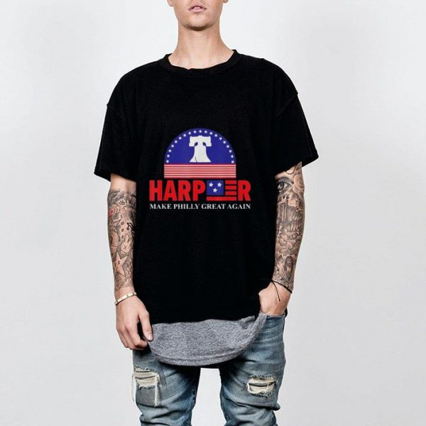 Harper Make Philly Great Again Liberty Bell shirt